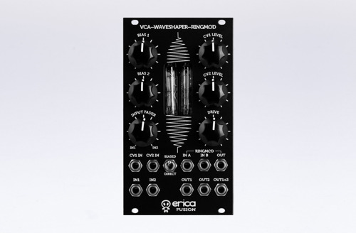 Erica Synths Fusion VCA / Waveshaper / Ringmodulator - a complex sound processor is now available