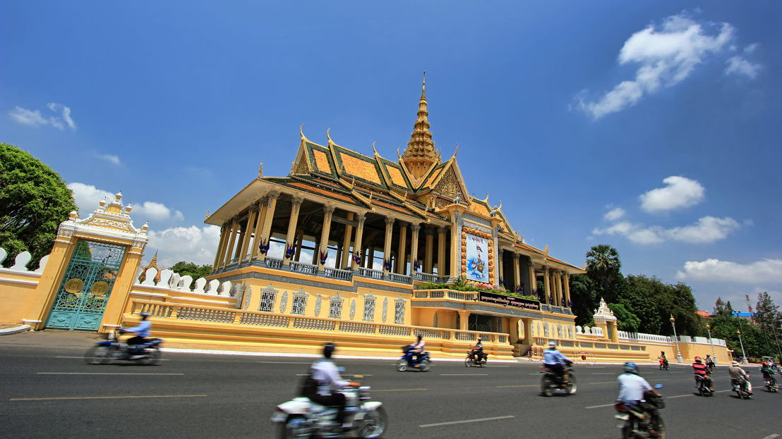 The Moonlight Pavilion, Royal Palace, in Phnom Penh, Cambodia