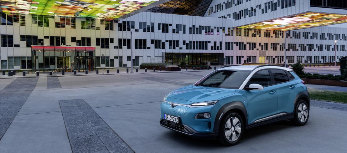 Livraisons rapides et carte de recharge de 20.000 km pour les clients Hyundai KONA EV.