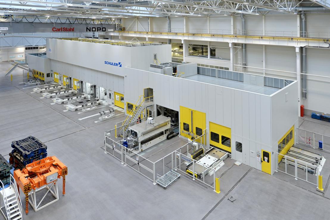 Construction of new ŠKODA press shop in Mladá Boleslav in full swing