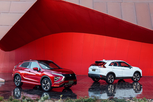 Mitsubishi Motors introduceert Eclipse Cross PHEV in Europa.