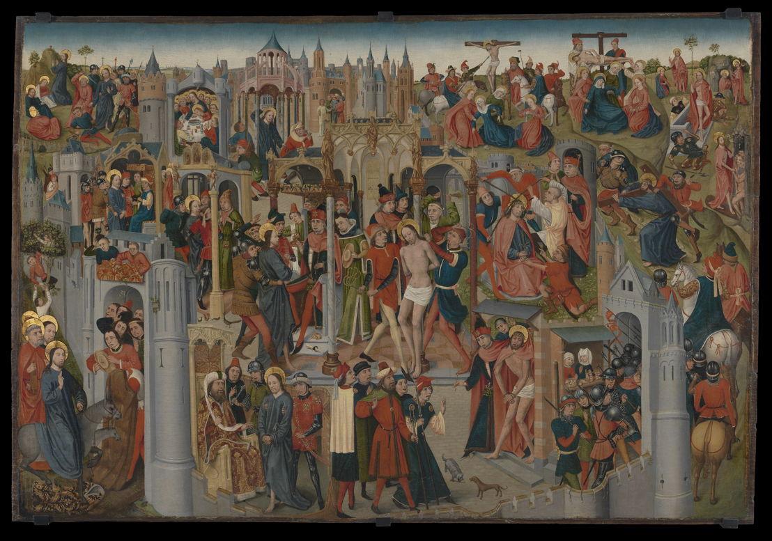 De Passie van Christus, Brabant, c. 1470–1490 © Lukas - Art in Flanders, foto Dominique Provost