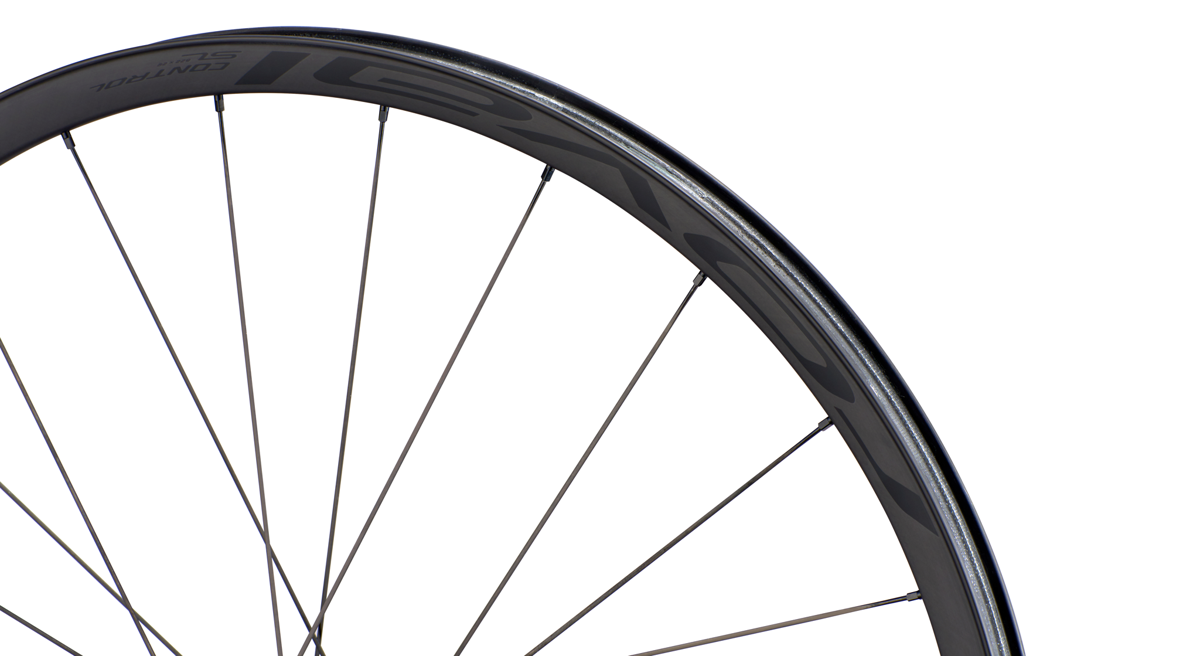 Control SL rims: 29mm inner width paired with 4mm width rim top