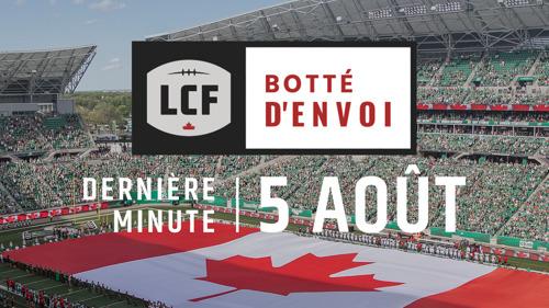 La Ligue canadienne de football de retour le 5 août