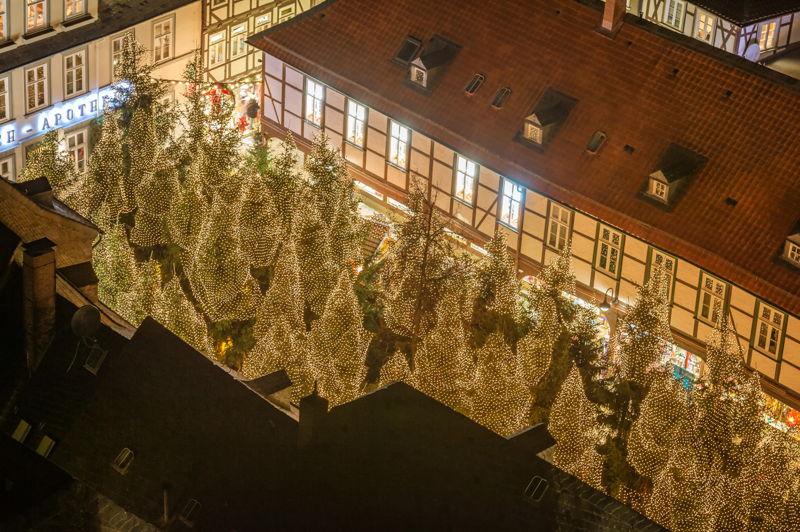 GOSLAR marketing gbmh Fotograf Stefan Schiefer Weihnachtswald von oben kl