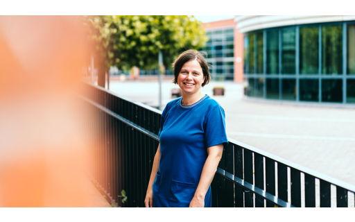 Marianne is leraar godsdienst en volgt de Verkorte Educatieve Bachelor Secundair Onderwijs via afstandsonderwijs