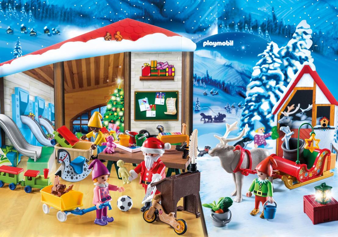 Décomptez les jours jusqu'à Noël avec PLAYMOBIL®