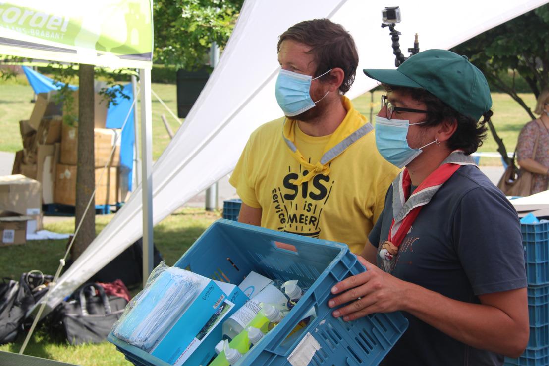 Provincie deelt mee hygiënepakketten uit voor zorgeloos zomerkamp