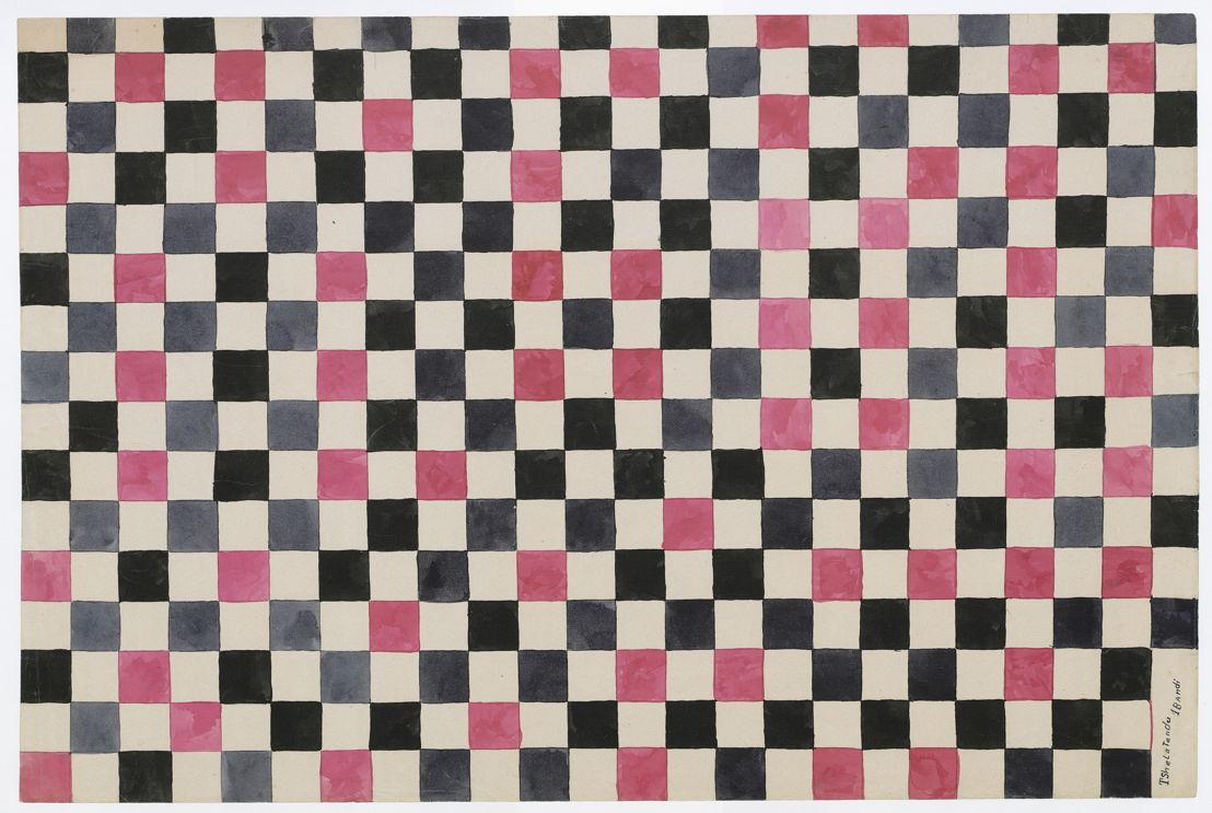 Tshela Tendu, Zonder titel, ca. 1930, SV 72815-36, Prentenkabinet, Koninklijke Bibliotheek van België