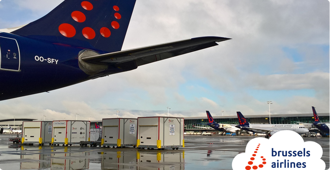 Collaboration étroite entre Brussels Airlines et Lufthansa Cargo