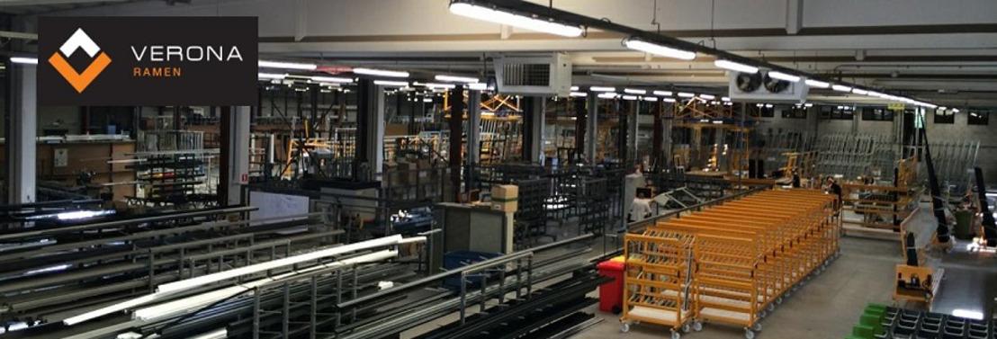 Officiële opening hypermoderne Aluminiumproductie Verona NV in Booischot