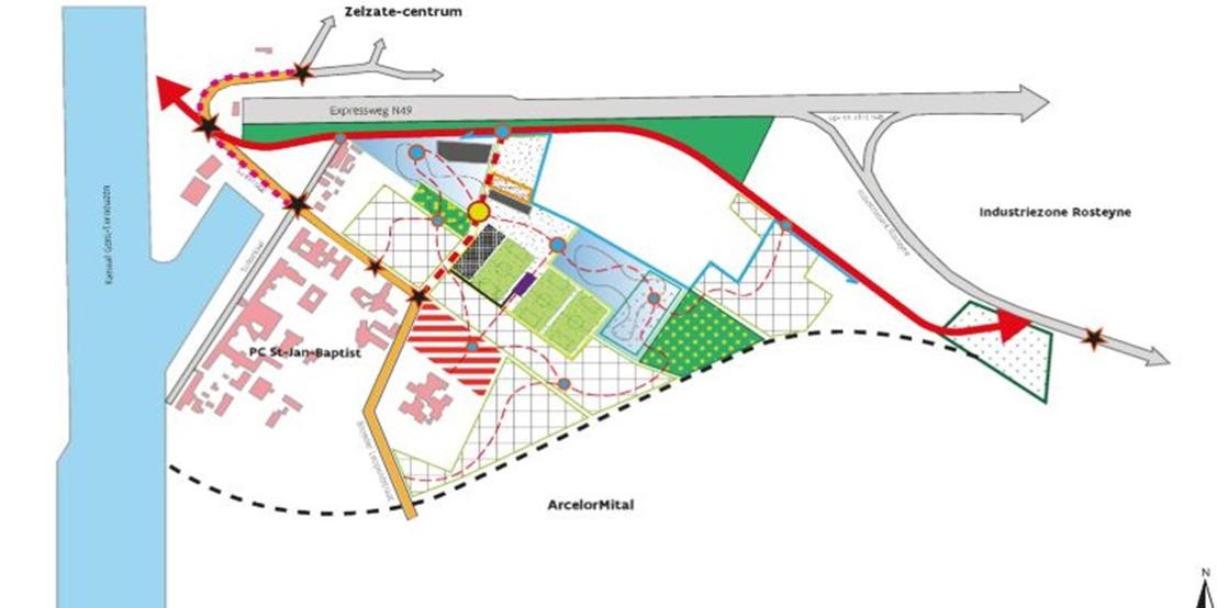 Nieuwe investeringen voor een groenere Gentse Kanaalzone