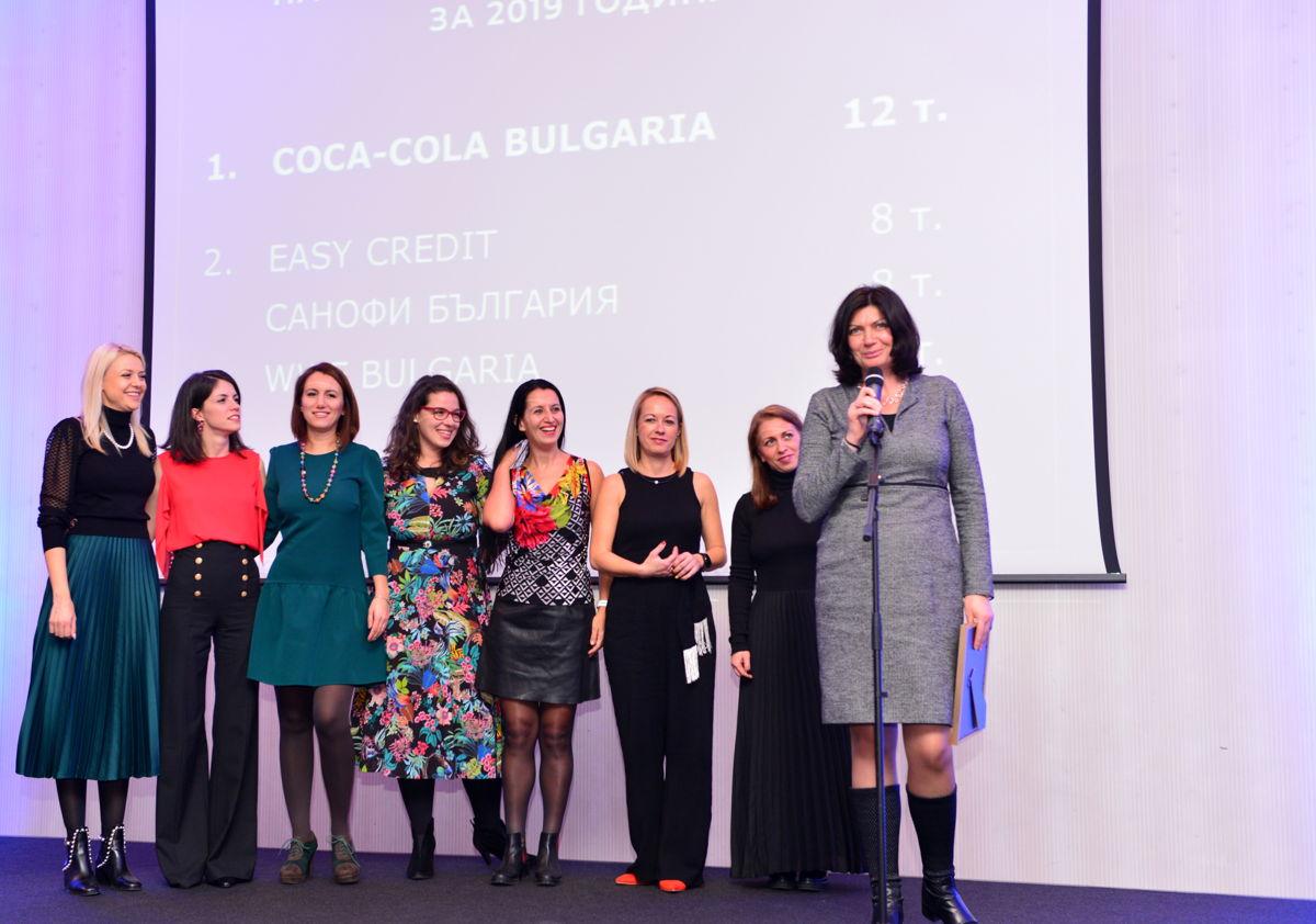 Най-ефективен рекламодател Coca Cola България