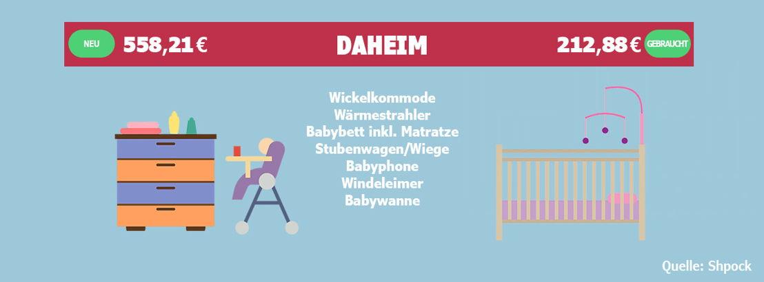 Um für das Baby in den eigenen vier Wänden gerüstet zu sein, muss es nicht immer Neuware sein.