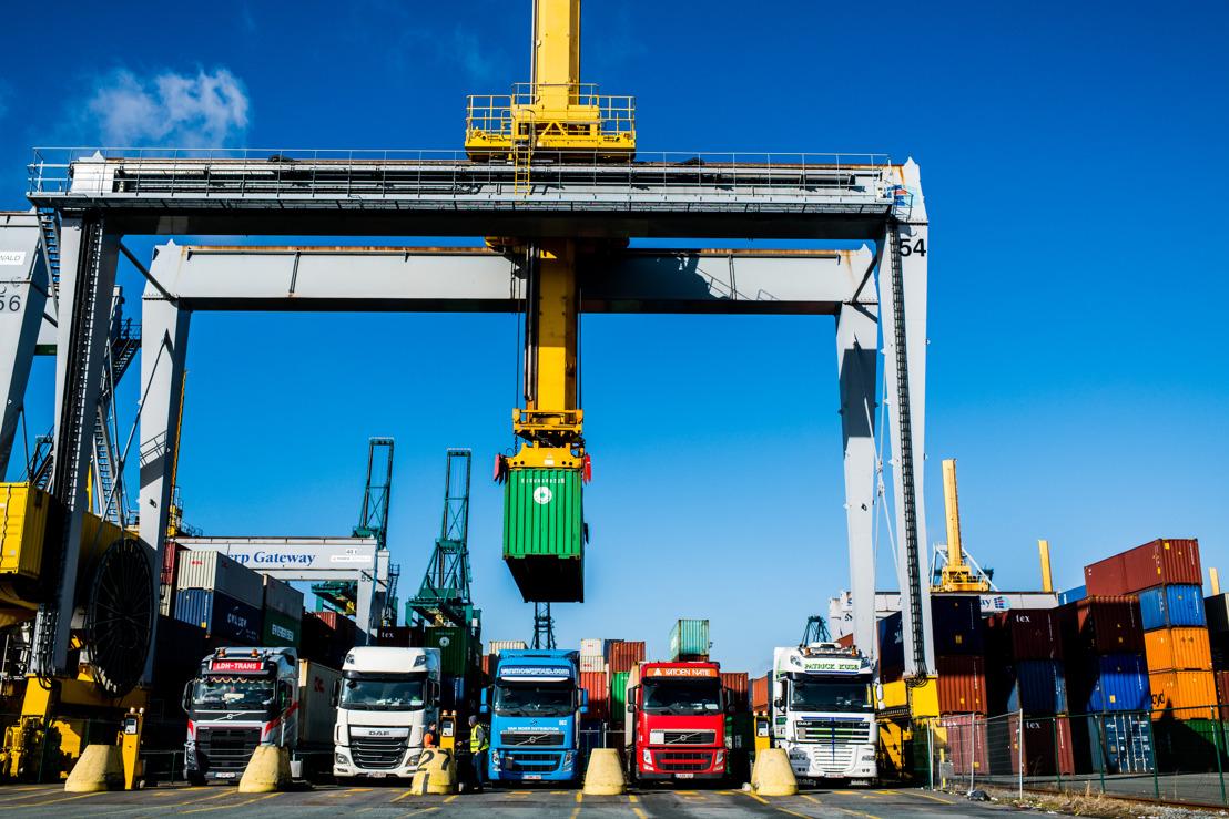 Gefaseerde uitrol voor Certified Pick up in de haven van Antwerpen