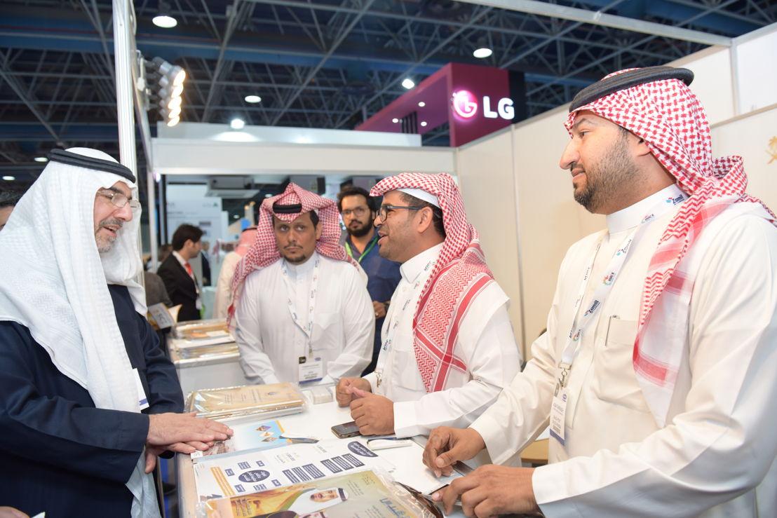 VIP and exhibitors at HVACR Expo Saudi 2018