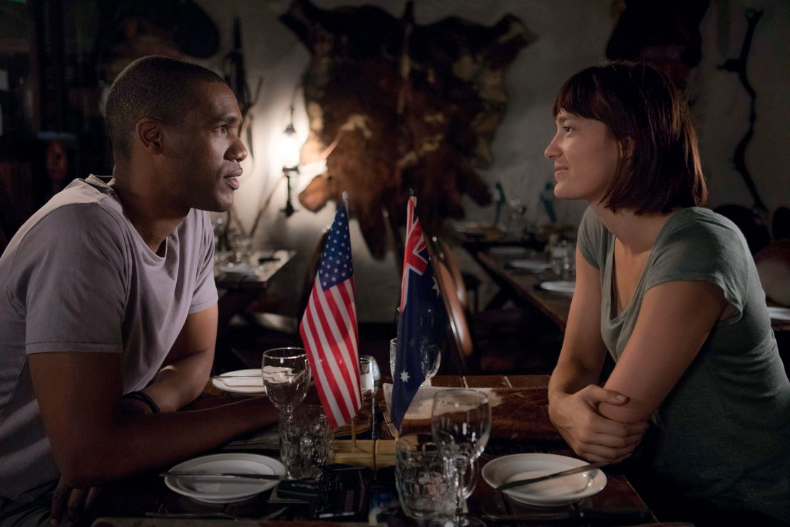 Parker Sawyers as Gus and Tess Haubrich as Jasmina