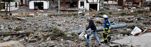 Help the victims of the German flood disaster by playing games!