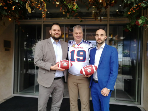 CFL AND FRENCH AMERICAN FOOTBALL FEDERATION AGREE TO WORK TOGETHER TO GROW THE GAME