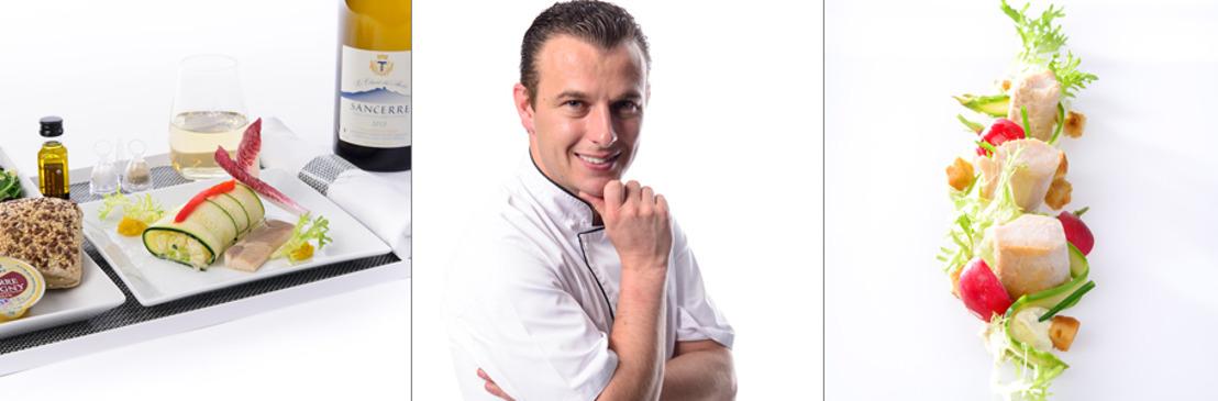 Brussels Airlines propose des menus du Chef Thomas Locus