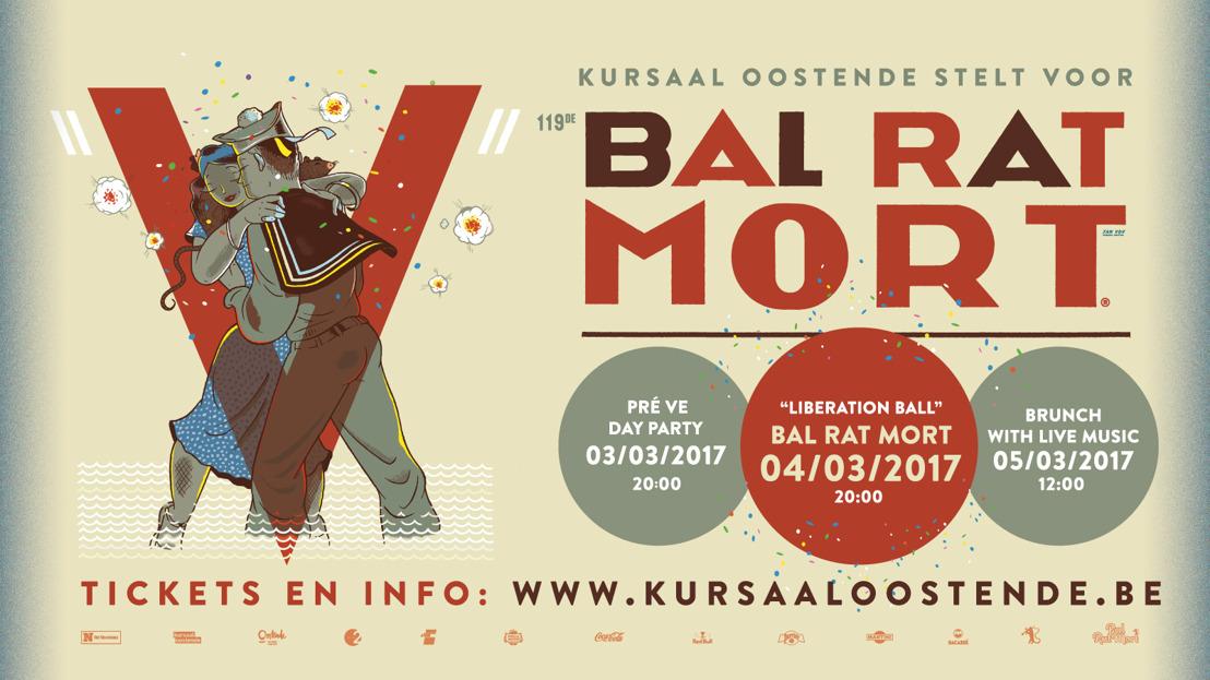 Bal Rat Mort in Oostende wordt driedaags feest