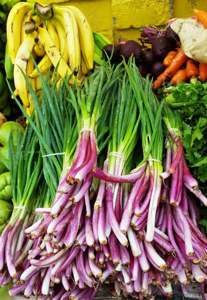 Fruits et légumes frais.