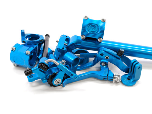 OUT OF THE BLUE, PAUL BRINGS NEW COLOR TO THEIR ANODIZED PARTS!