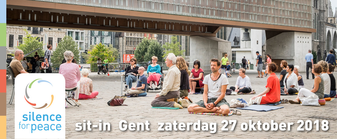 Media alert: Silence for Peace organiseert derde sit-in op zaterdag 27 oktober in Gent