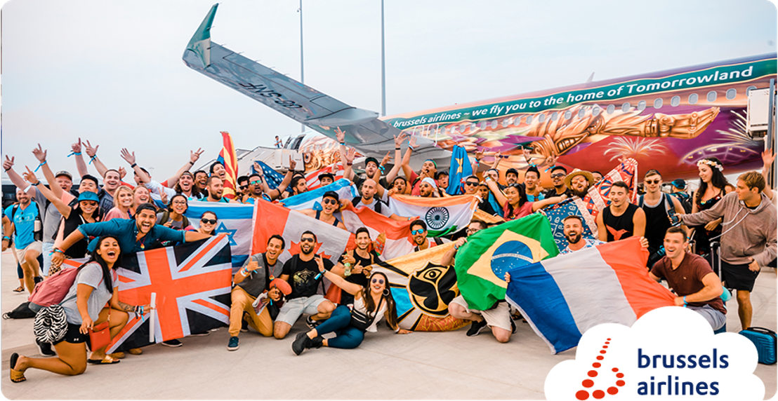 Brussels Airlines flies more than 25,000 People of Tomorrow to Belgium.
