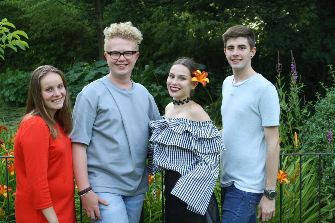 Mister Gay Belgium neemt samen met drie andere ambitieuze jongeren deel aan Komen Eten