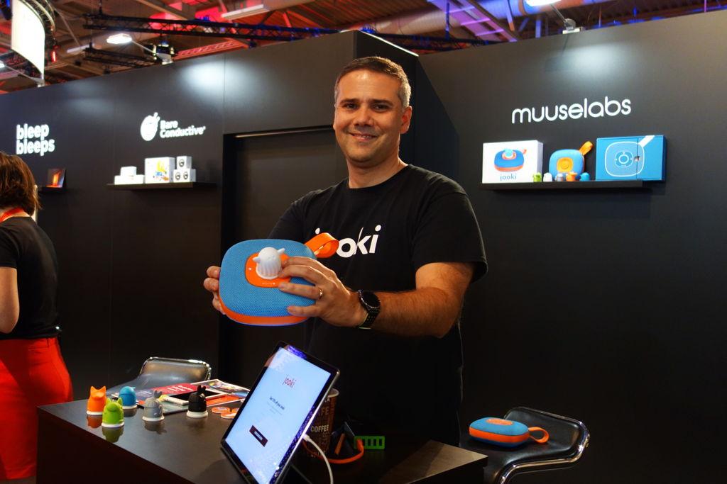 Theo Marescaux, MuuseLabs co-founder, at IFA Berlin 2017