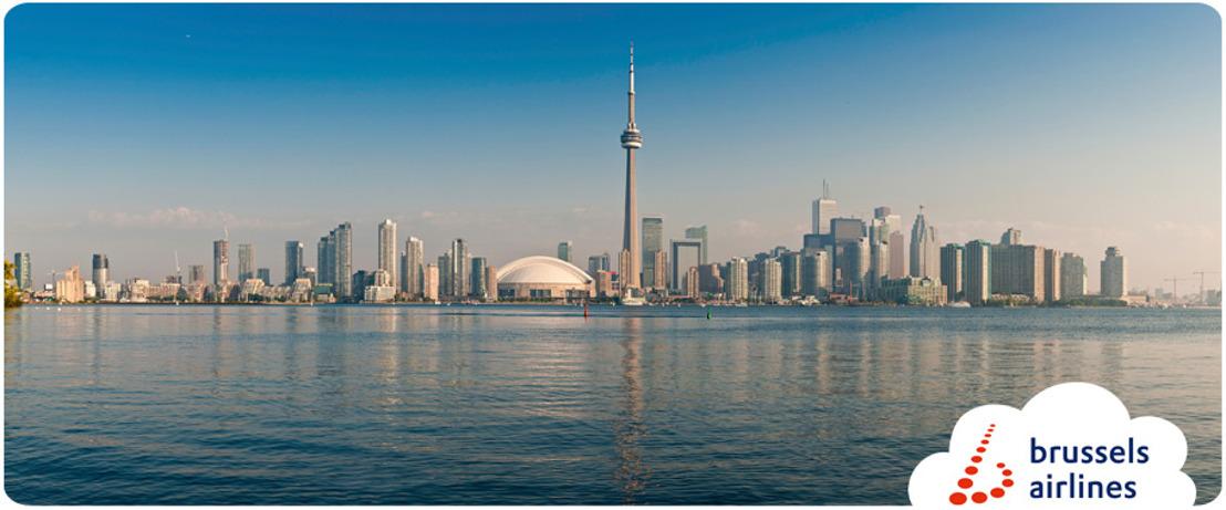 Brussels Airlines vliegt vanaf vandaag naar Toronto