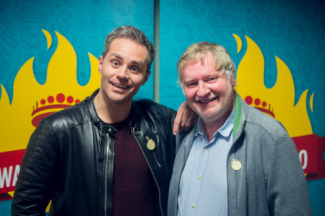 Peter Van de Veire (MNM) & Peter Verhulst (Radio 2) - (c) VRT/Jokko
