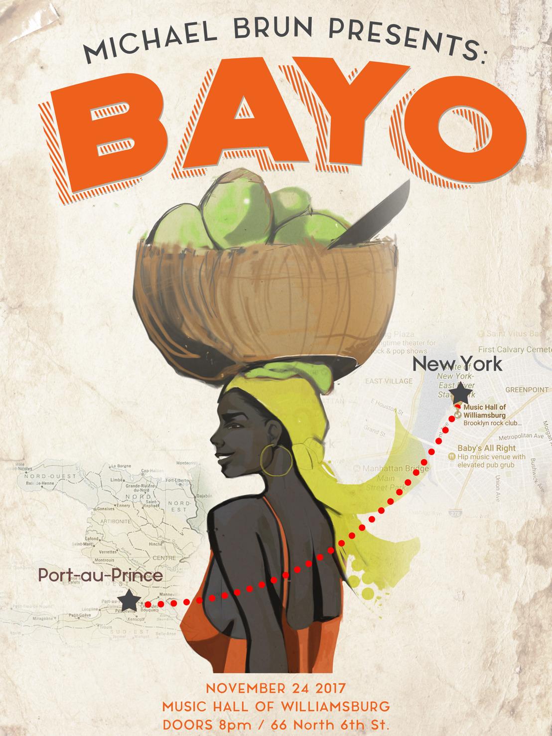 Michael Brun Presents Bayo - Music Hall of Williamsburg, New York City on 11/24