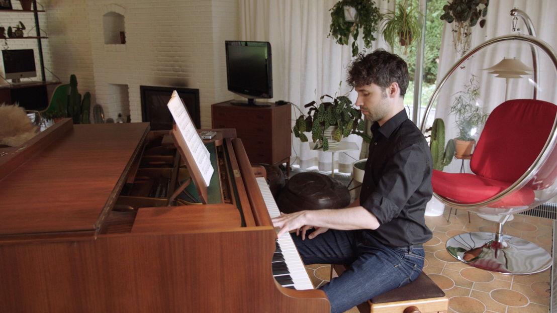 Thomas oefent - (c) VRT