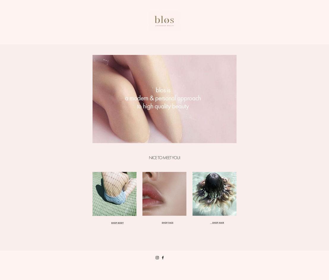 Blos Homepage