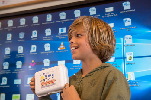Riebe Roegiers van VBS Bijenkorf uit Sleidinge wint Europese tekenwedstrijd