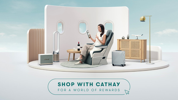 Preview: Introducing a new shopping experience with Cathay
