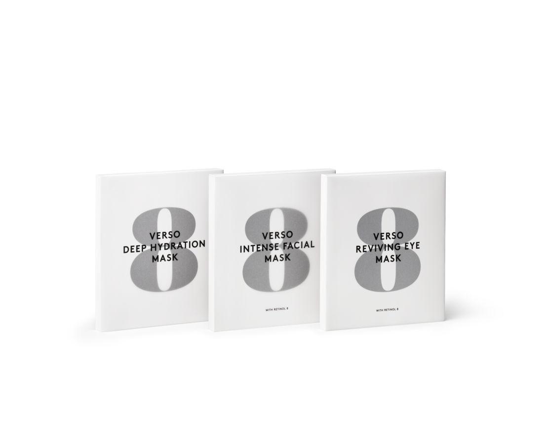 Verso no8 - Sheet Masks - 82 euro - 82 euro - 55 euro