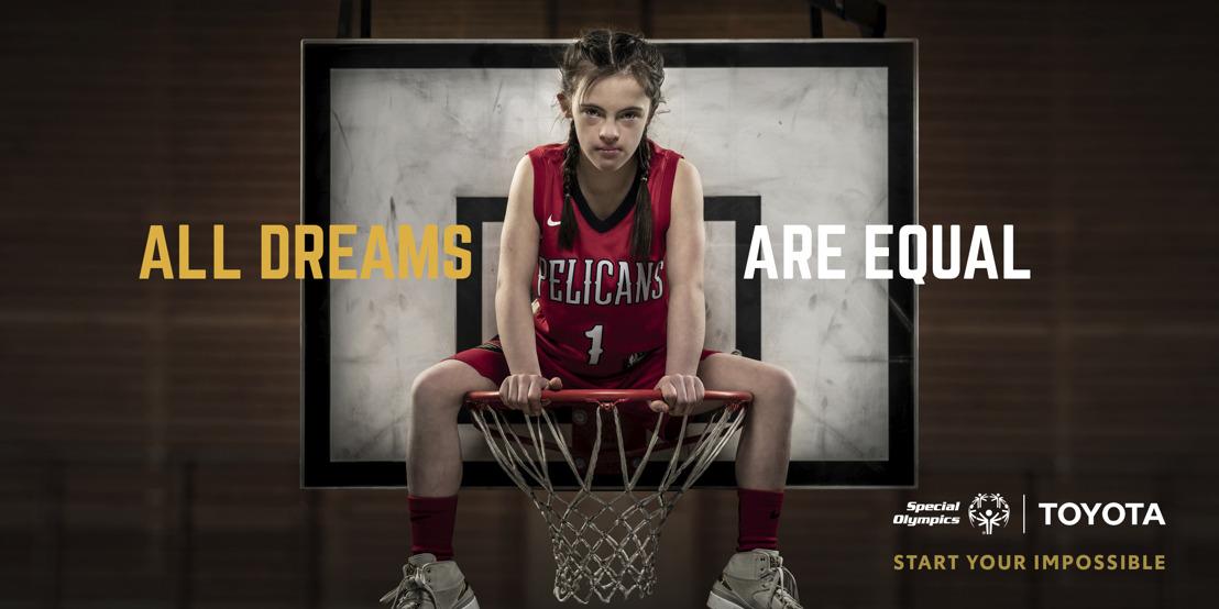 Communiqué de presse : Special Olympics lance sa nouvelle campagne internationale #alldreamsareequal