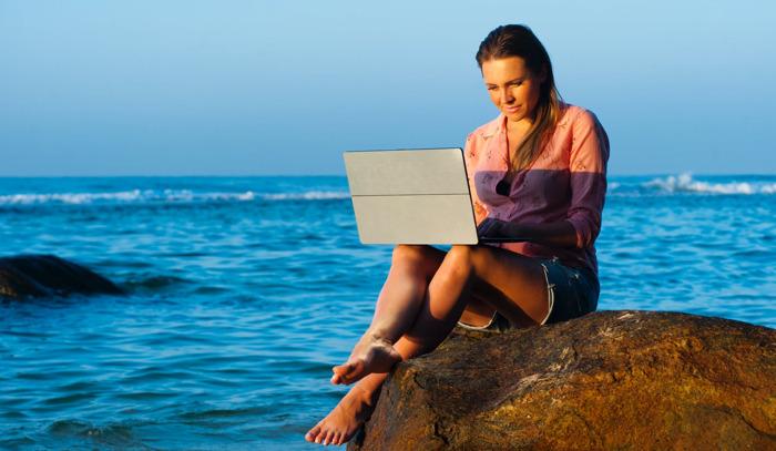 Guía para convertirte en un nómada digital con Pinterest