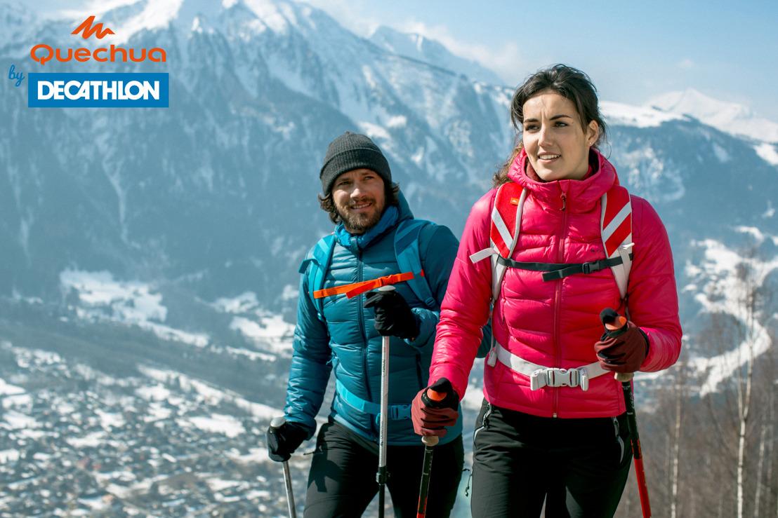 Atteignez des sommets cet automne-hiver avec la nouvelle collection de Quechua !