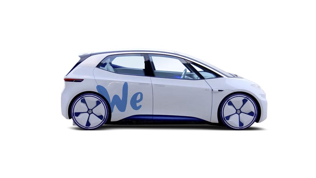 Volkswagen zal in de toekomst een 'zero emission' autodeelplatform aanbieden