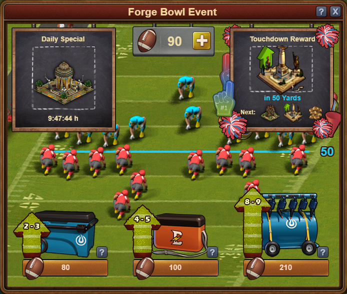 Forge Bowl Event In-Game