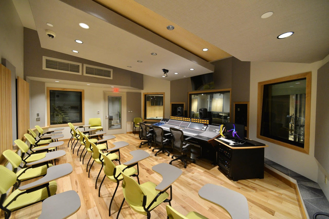 Reaching New Heights in Design for Higher Education: WSDG Facilities Mold Tomorrow's Audio Professionals
