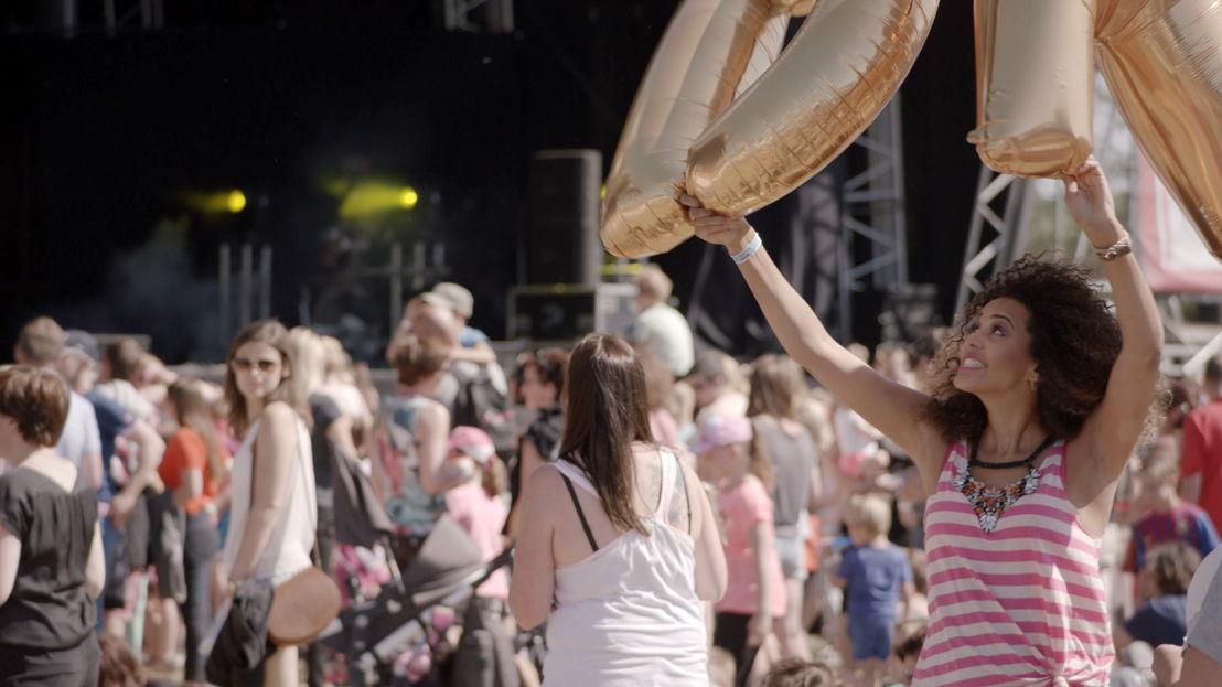 Tatyana Beloy in de videoclip van Ketnet Musical : Kadanza Together - (c) VRT