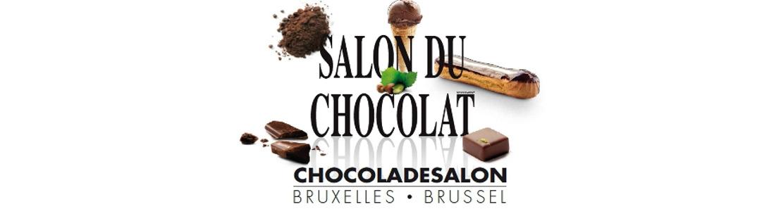 Save the date : du 5 au 7 février 2016 - Le 3ème Salon du Chocolat de Bruxelles