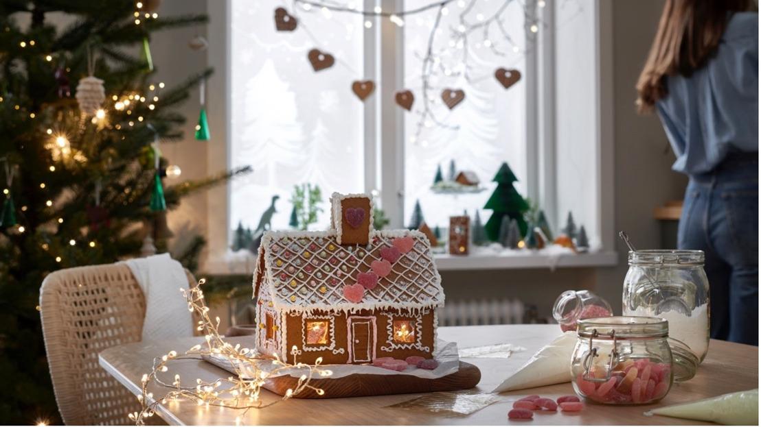 Ambiance cosy garantie pour les fêtes de fin d'année avec la nouvelle collection VINTER de IKEA