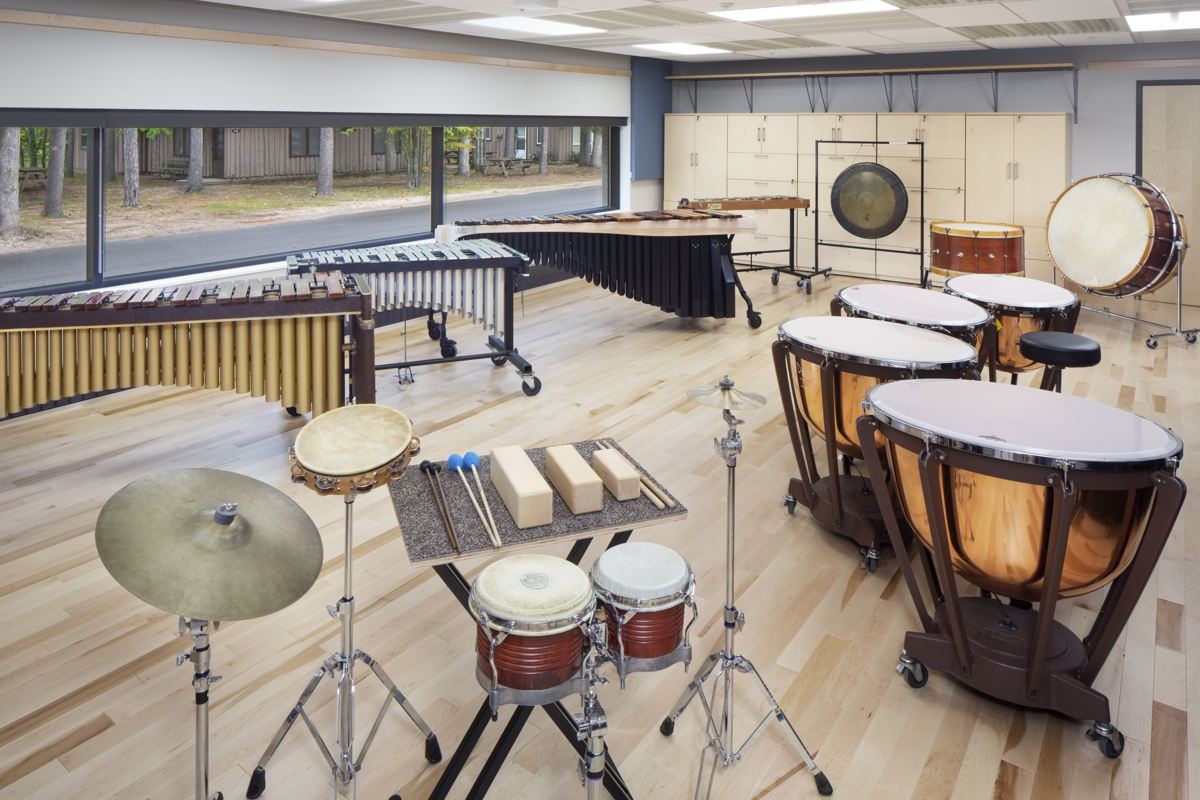 Interlochen Center for the Arts Ensemble Room photo by gregceostudio.com