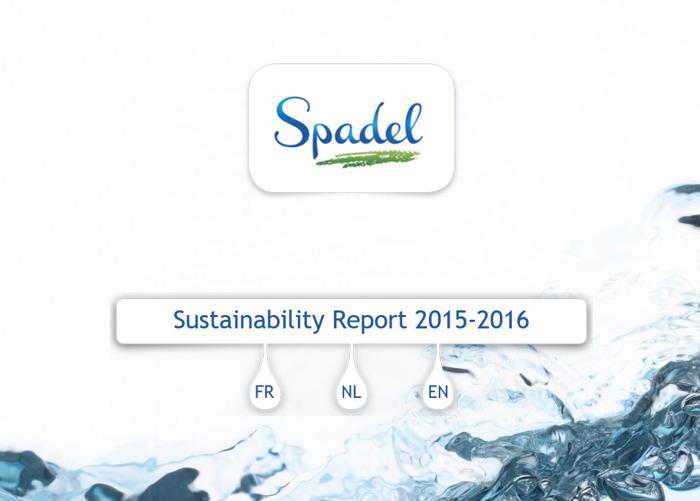 Preview: Nouveau Rapport Développement Durable de Spadel